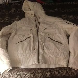 Tommy Hilfiger white winter jacket